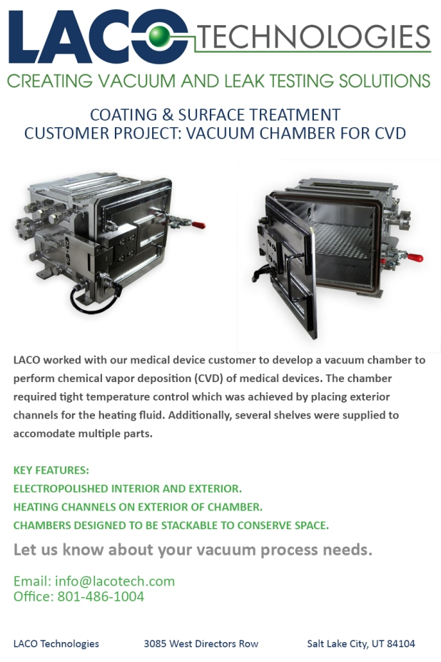 Customer Project - Coating and Surface Treatment - CVD Vacuum Chamber