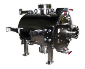 high vacuum chamber for microwave research