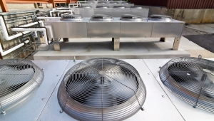 Refrigeration and A/C leak testing