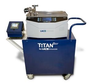 LACO TitanTest Leak Detector with TCM50 Communication Module