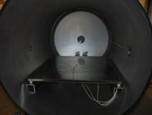 Inside View of Vacuum Chamber