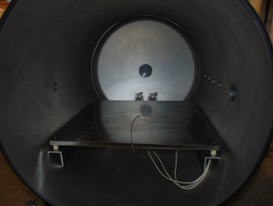 Inside View of Vacuum Chamber