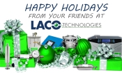 Happy Holidays from LACO Technologies