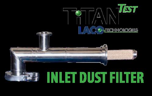 Inlet Dust Filter - Helium Leak Detector - LACO TitanTest