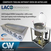 Vacuum Degassing System Article on Composites World