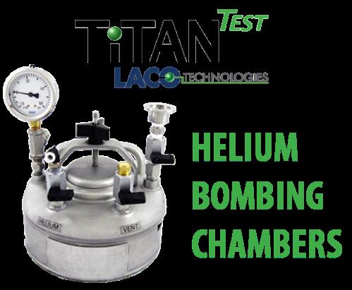 Helium Bombing Chamber - Helium Leak Detector - LACO TitanTest