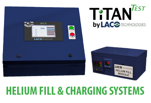 Helium Charge and Helium Fill Systems - Helium Leak Detector - LACO TitanTest