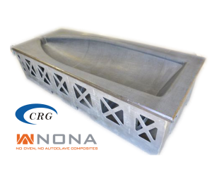 Nona Composites - Composite tooling without oven or autoclave