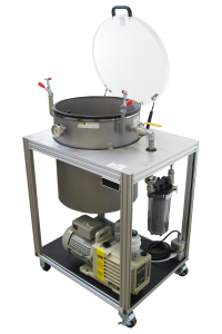 Vacuum Degassing System Article for Composites - Resins and Epoxies