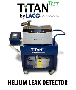 Helium Leak Detector - TitanTest