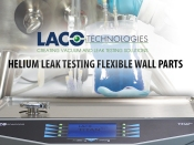 Helium Leak Testing Flexible Wall Parts