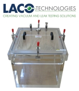 20x20 Clear Cube Vacuum Chamber - Acrylic