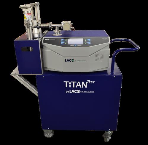 TitanTest Helium Leak Detector - Test Chamber - Airbag Inflators