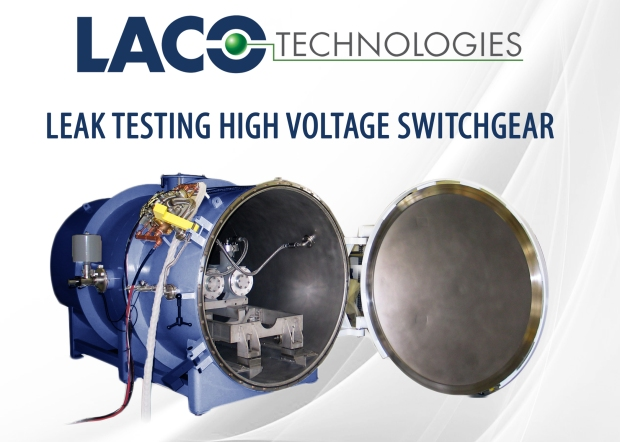 Helium Leak Testing High Voltage Switchgear - SF6 Leak Detection - Helium Leak Detector