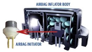 Airbag Initiators Diagram