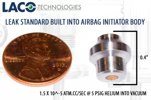Leak Standard Built Into Airbag Initiators