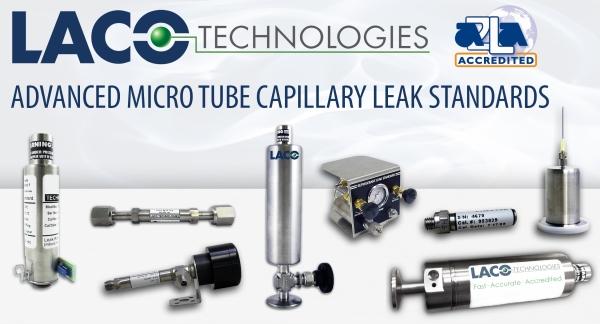 Advanced Micro Tube Capillary Leak Standards (LACO Technologies Blog)