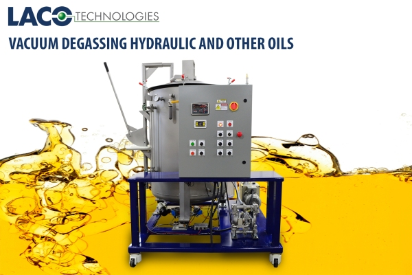 Vacuum Degassing Hydraulic and Other Oils