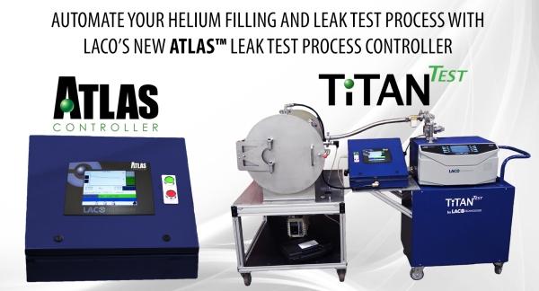 Atlas Leak Test Process Controller - Helium Charger - Helium Leak Detector
