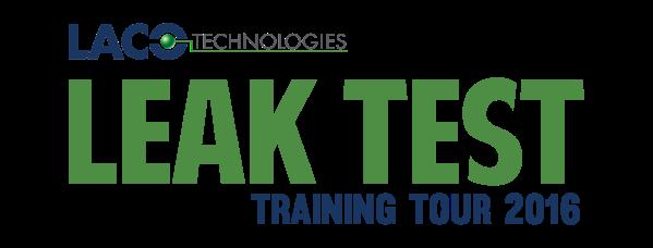 LACO's Leak Test Training Tour 2016 - Leak Testing - Leak Detection (blog)