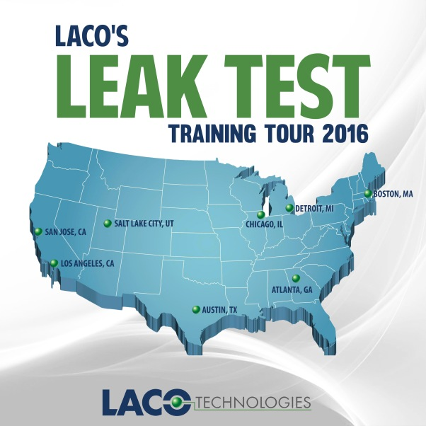 LACO's Leak Test Training Tour 2016 - Leak Testing - Leak Detection
